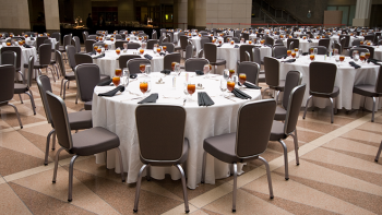 event banquet tables